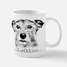 Harley Lap of Love BW Mug