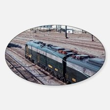 Conrail OCS Train Oval Decal