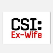 CSI: Ex-Wife Postcards (Package of 8)
