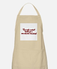 Two Week Notice BBQ Apron