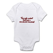 Two Week Notice Infant Bodysuit