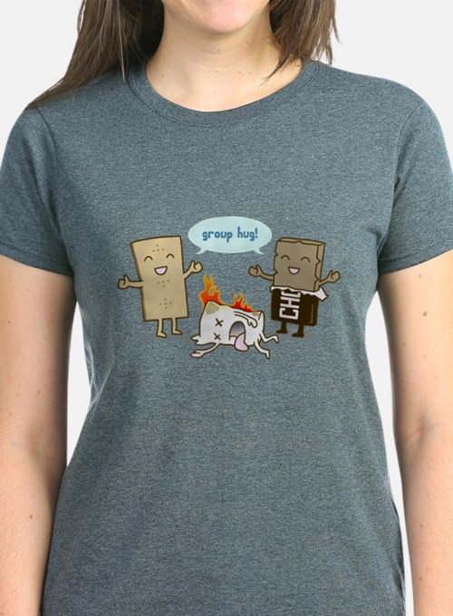 Flaming Marshmallow - Group Hug! T-Shirt