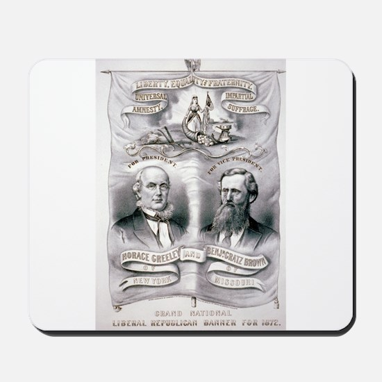 Grand National Liberal Republican banner for 1872