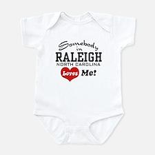 Raleigh North Carolina Infant Bodysuit