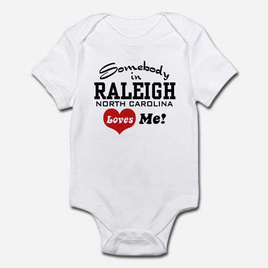 Raleigh North Carolina Infant Bodysuit