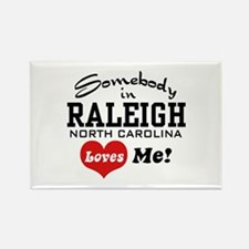 Raleigh North Carolina Rectangle Magnet