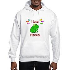 I Love Frogs Jumper Hoody