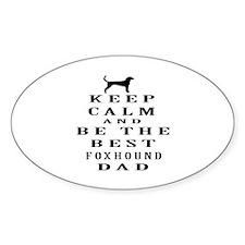 Keep Calm Foxhound Designs Decal