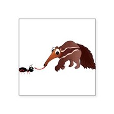 Anteater Meets His Lunch Sticker