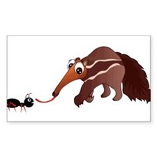 Anteater Meets His Lunch Decal