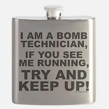 I am a bomb technician... Flask