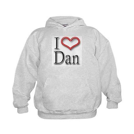 I Heart Dan Kids Hoodie