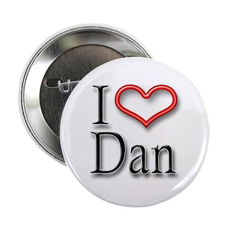 """I Heart Dan 2.25"""" Button (10 pack)"""