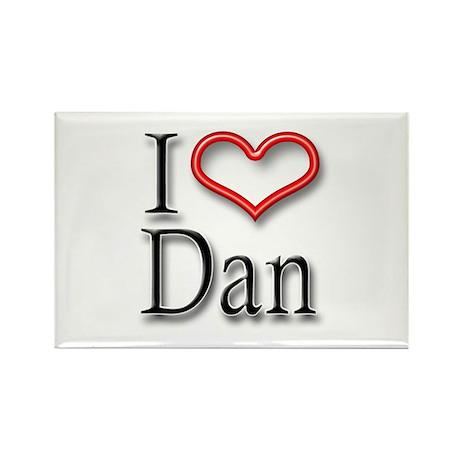 I Heart Dan Rectangle Magnet (10 pack)