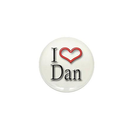 I Heart Dan Mini Button