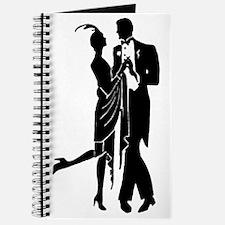 Vintage 1920s Couple Journal