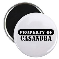 Property of Casandra Magnet