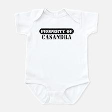 Property of Casandra Infant Bodysuit