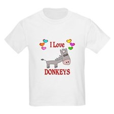 I Love Donkeys T-Shirt