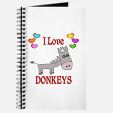 I Love Donkeys Journal