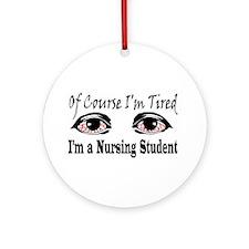 Nursing Student Ornament (Round)