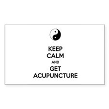 Keep Calm Get Acupuncture Decal