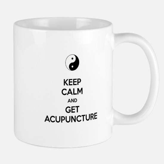 Keep Calm Get Acupuncture Mug