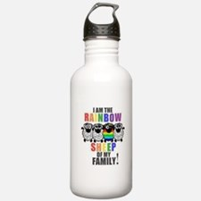 Rainbow Family Sheep Water Bottle