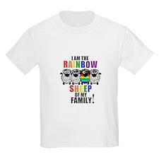 Rainbow Family Sheep T-Shirt