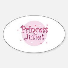 Juliet Oval Decal