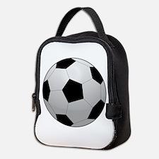 Soccer Ball Neoprene Lunch Bag
