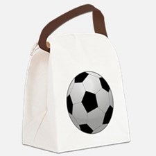Soccer Ball Canvas Lunch Bag