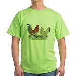 Blue Mille Fleur d'Uccles Green T-Shirt