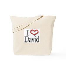 I Heart David Tote Bag