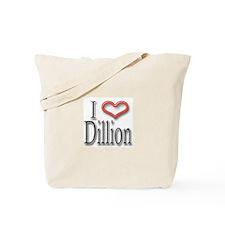 I Heart Dillion Tote Bag