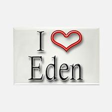 I Heart Eden Rectangle Magnet