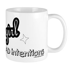 good girl with BAD intentions Small Mugs