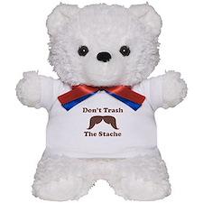 Dont Trash The Stache Teddy Bear