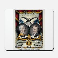 Grand national Whig banner - press onward - 1848 M