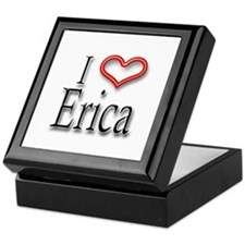 I Heart Erica Keepsake Box
