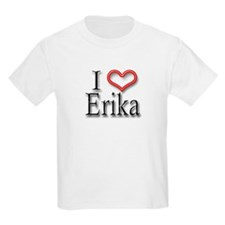 I Heart Erika Kids T-Shirt
