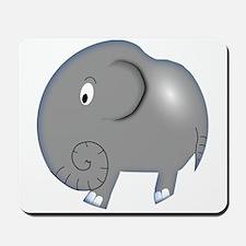 Balloon Grey Elephant Mousepad