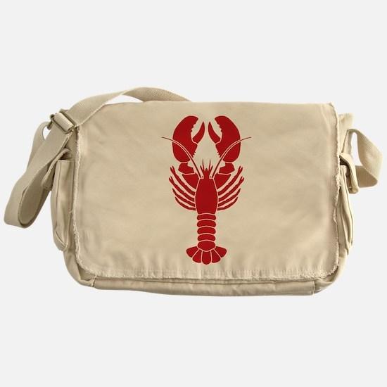 Lobster Messenger Bag