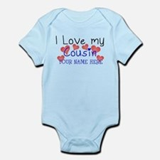 I Love My Cousin (Your Name) Body Suit