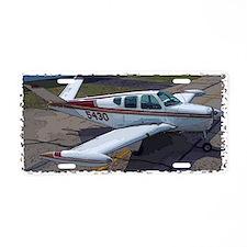 Beechcraft Bonanza Aluminum License Plate