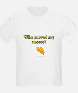 Who Moved My Cheese Kids T-Shirt