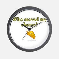 Who Moved My Cheese Wall Clock