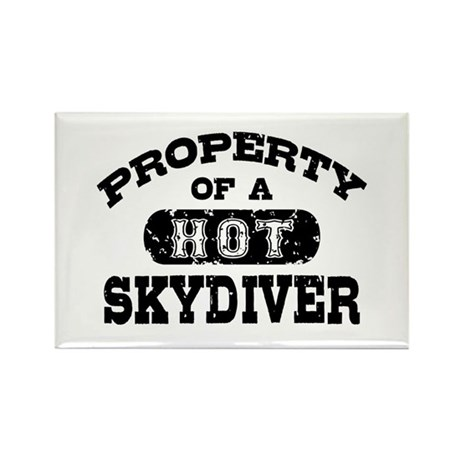 Property of a Hot Skydiver Rectangle Magnet
