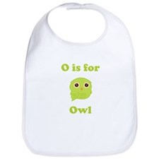 O Is For Owl Bib