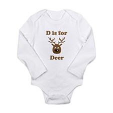 D Is For Deer Body Suit
